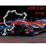 (LMP1 CHALLENGE) World Record Handling for RWDP30 LMP1 at NordSchleife 1.0