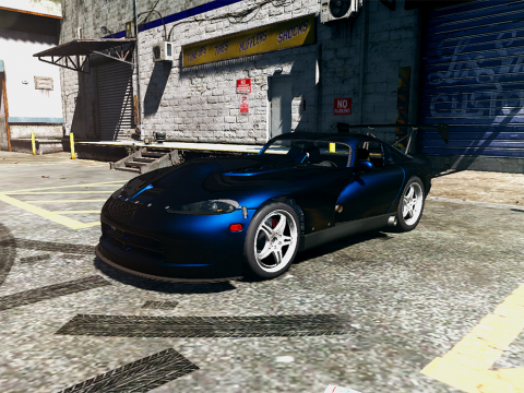 1997 Twins Turbo Motorsport Dodge Viper GTS [Add-On / Replace] 1.2