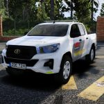 2019 Toyota Hilux Securitas Skyddsvakt | ELS 1.0