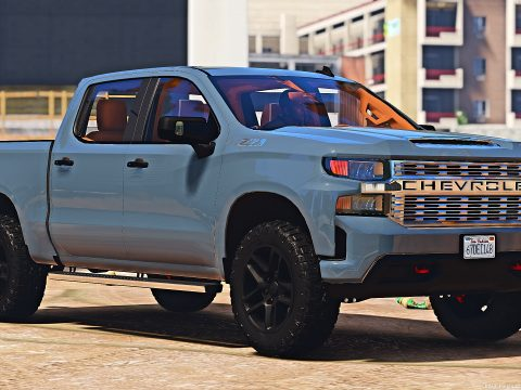 "2020 Chevrolet Silverado Trail Boss ""stock"" [Add-On] 1.0"