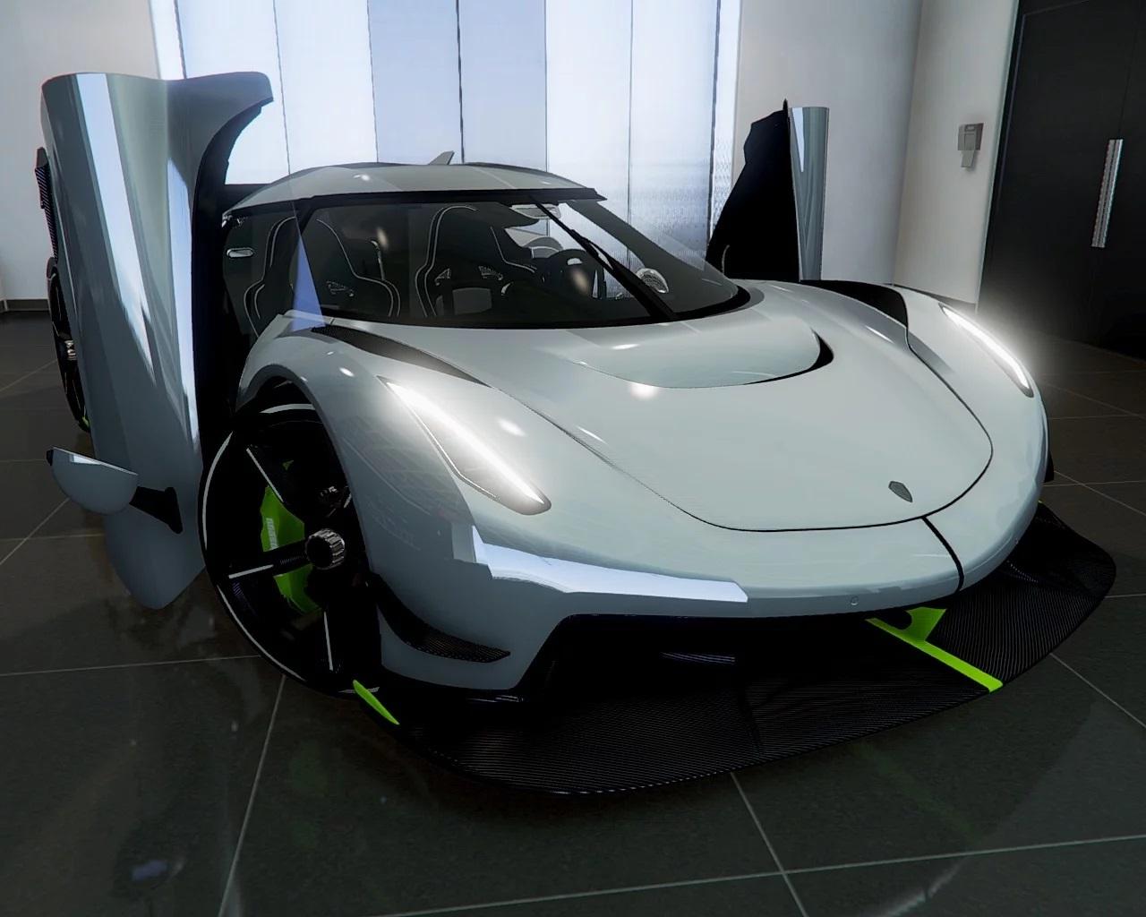 2020 Koenigsegg Jesko [ Add-On | Door Script | Digital Dials | Extras ] Reconvert 1.0