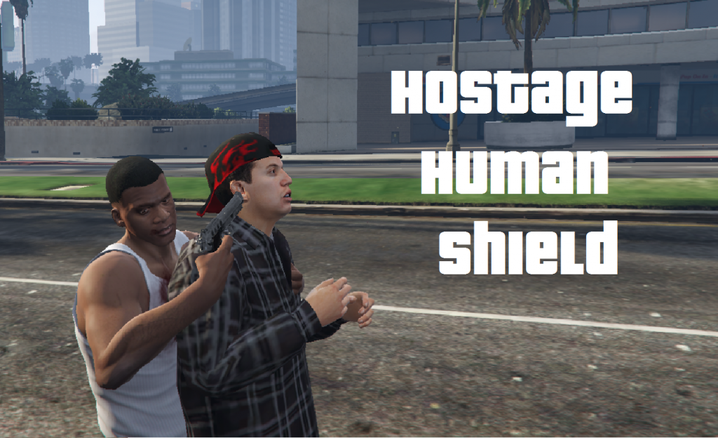 Hostage Human Shield