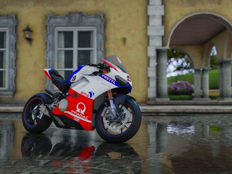 Alma Pramac Racing Livery for Ducati V4s 1.0