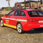 Audi A4 | SMURD Romanian 1