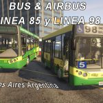 Bus 98 and 85 BsAs Arg. (Replace)(BUS / AIRBUS) 1.0