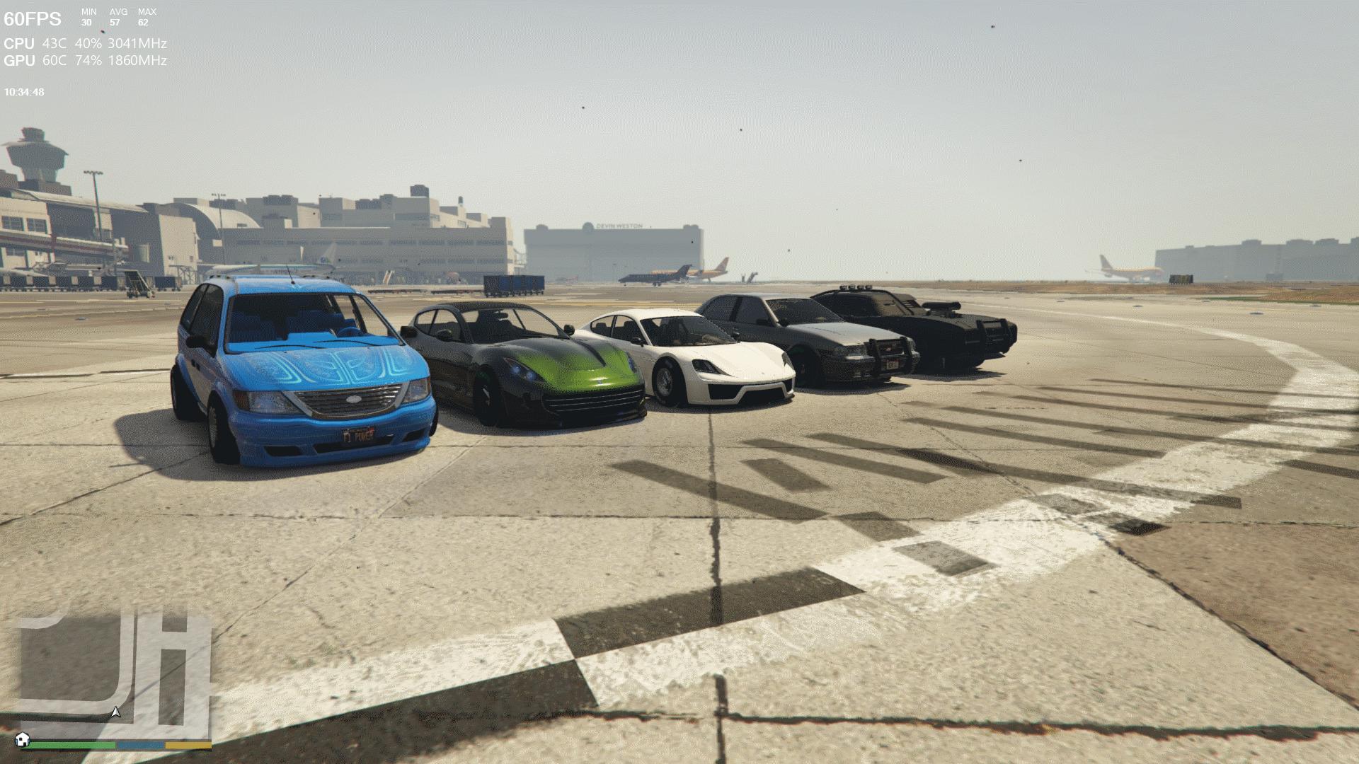 Crazy F1 Cars (Menyoo) 1.0
