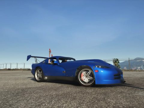 Dodge Viper GTS Twins Turbo Motorsport 1997 More Realistic Handling 1.0