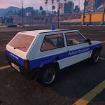 Fiat Panda Polizia Municipale 0.9