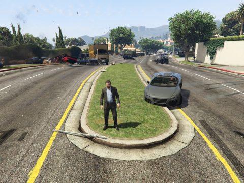 GTA V No Brakes mod 1.0