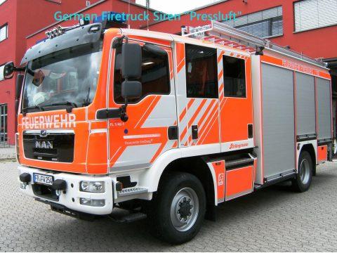 German Firetruck Siren 1.0