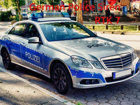 German Police Siren RTK 7 1.0