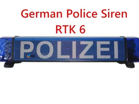 German + Romania Police Siren RTK 6 1.0