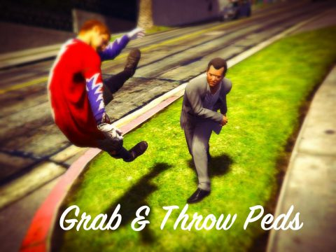 Grab & Throw Peds 1.1