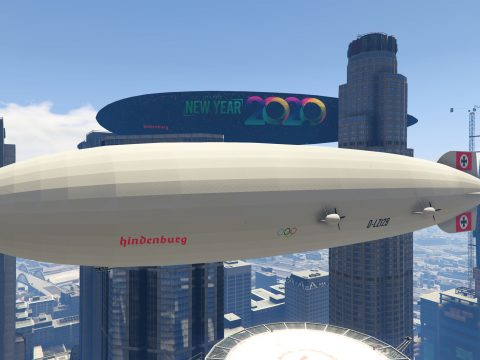 Hindenburg Zeppelin [Add-On / Replace I LODs] 1.0
