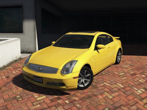 Infiniti G35 (V35) Coupe '03 [Add-On | Tuning | Template | LODS]