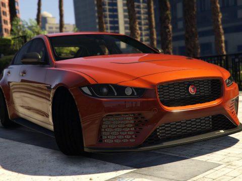 Jaguar XE SV Project8 [Add-On   Unlocked] 1.0