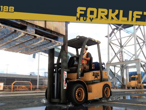 Lore-Friendly Liveries for HVY Forklift [Add-On | Replace | Liveries | Template | Sound] v1.0
