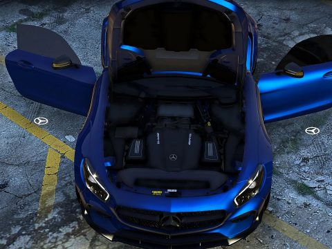 Mercedes-AMG GT S Prior Edition [Add-On] 1.0