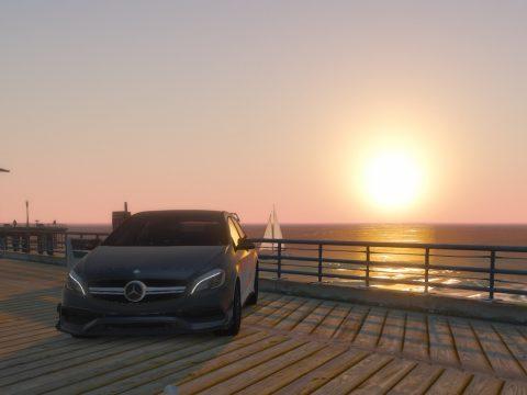 Mercedes-Benz A45 AMG Engine Sound Mod & Realistic Handling 1.0