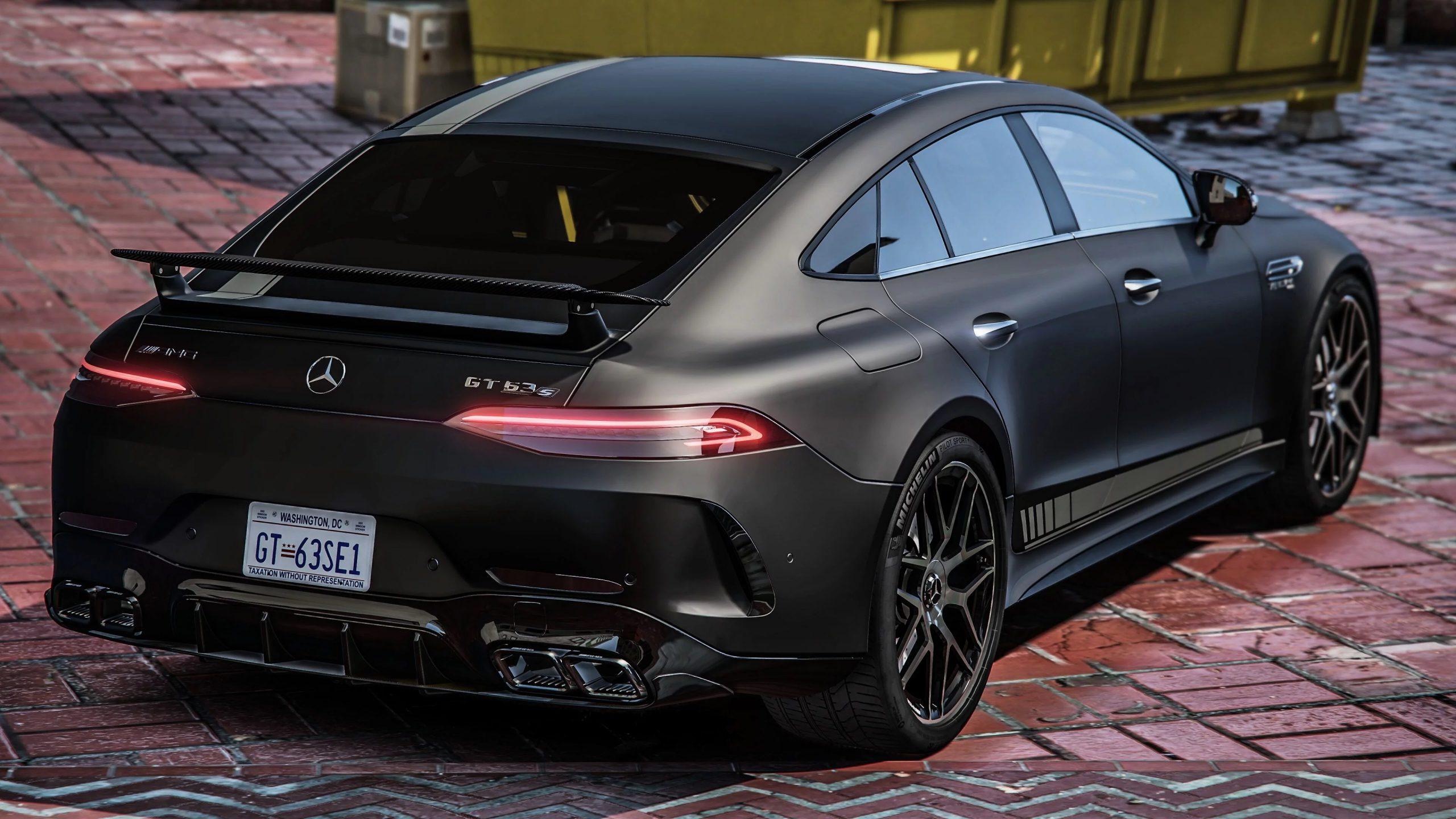 Mercedes-Benz AMG GT63 2018 Replace 1.0 - GTA5mod.net