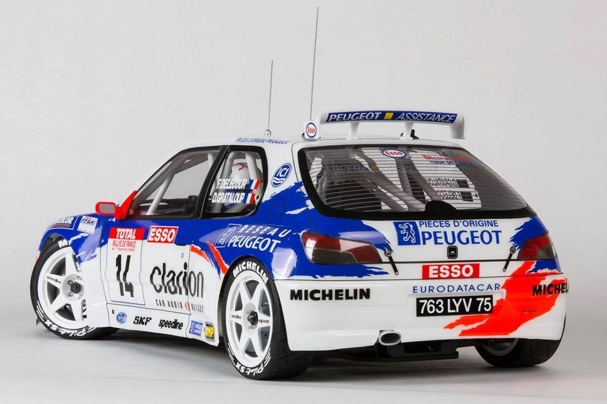 Only for Steer Wheel Handling Peugeot 306 Maxi WRC 1.1