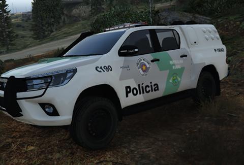 Pack de Hilux SRV Policia de São Paulo ELS