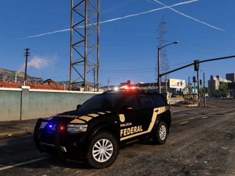 Pajero Polícia Federal [ELS] FiveM e Offline 1.0