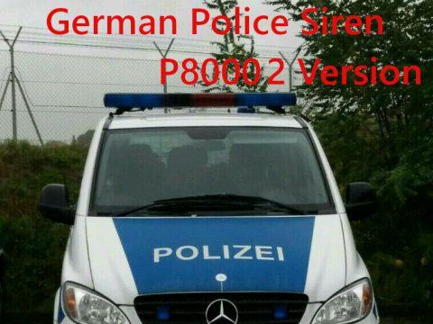 Police Siren P8000 2 variants 1.1