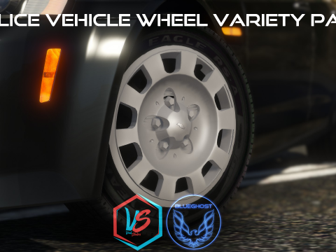 Police Vehicle Wheel Variety Pack [Add-On] 1.5
