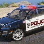 Porsche Cayenne - Need for Speed Hot Pursuit Police + Template