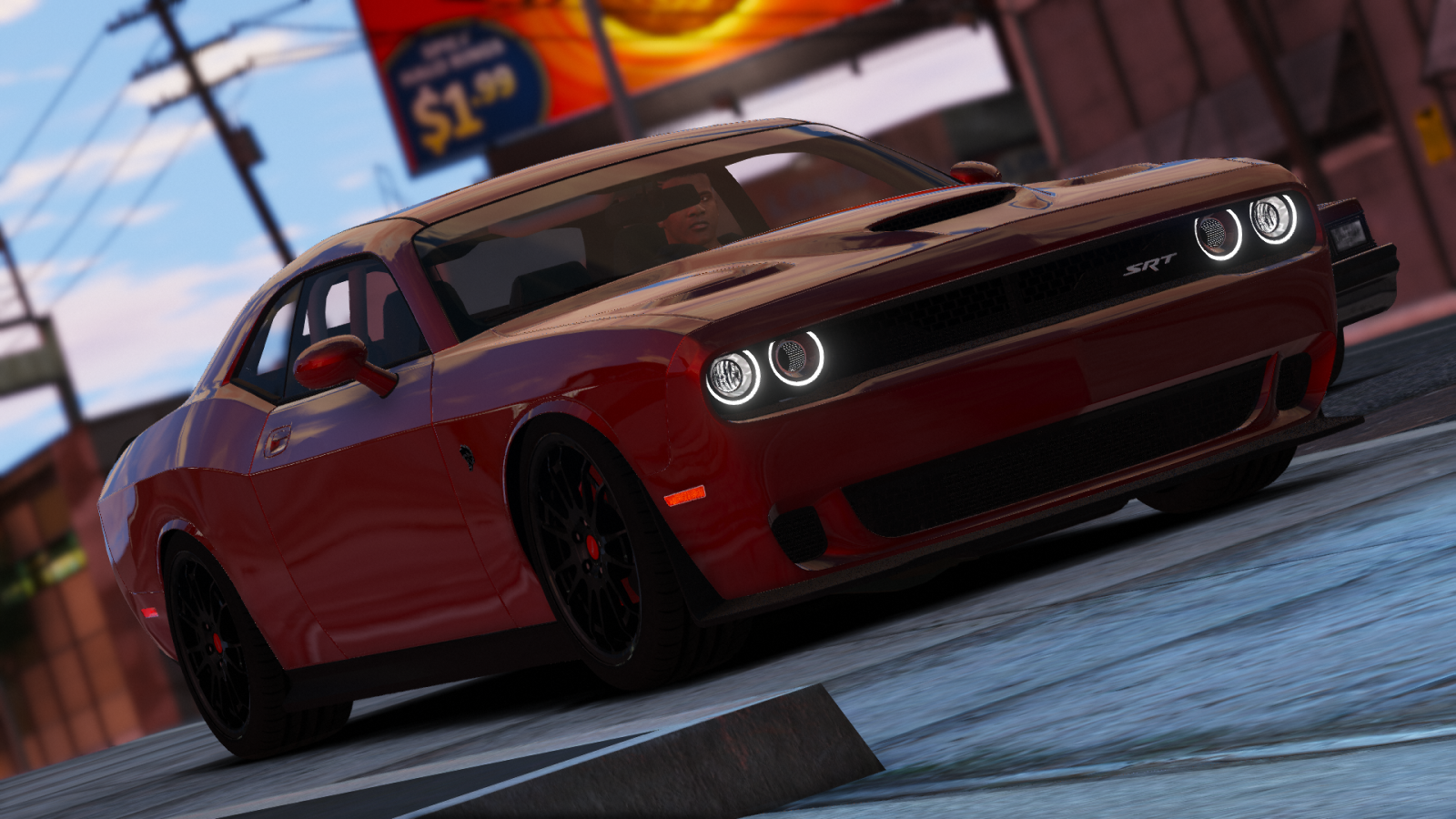 Realistic handling for new 2016 Dodge Challenger 1.0