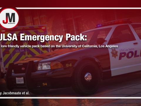 ULSA Emergency Pack [Add-On   Lore Friendly   Soundbank   Template ]