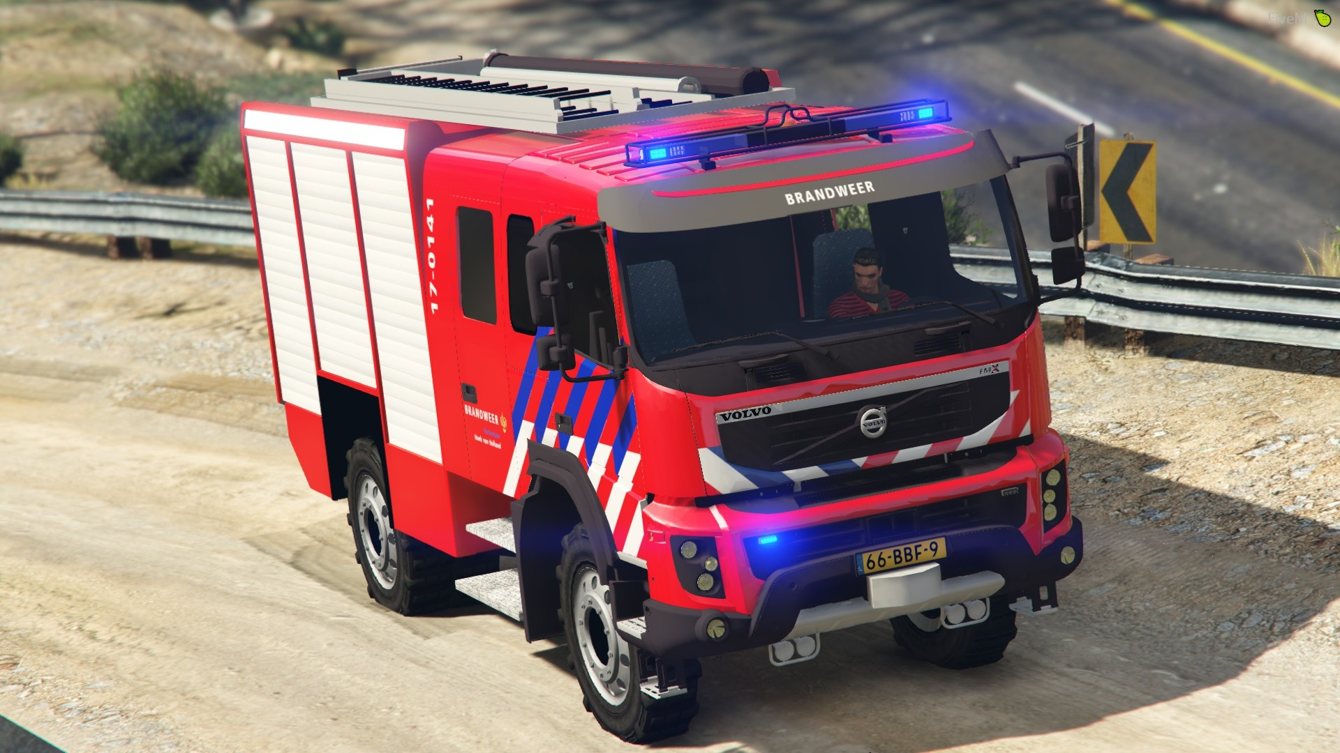 Volvo FMX330 2012 Dutch Brandweer [Replace|ELS] BETA