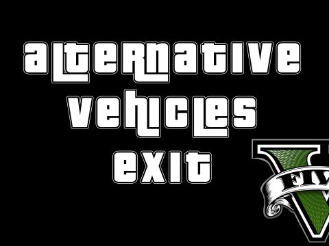 Alternative Vehicles Exit (AI - style) [.NET] 1.0