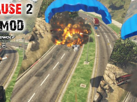 Just Cause 2 Eject + Parachute Thrusters 1.1