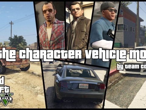 The Character Vehicle Mod [.NET] (w/ Trunk Weapons) 1.2