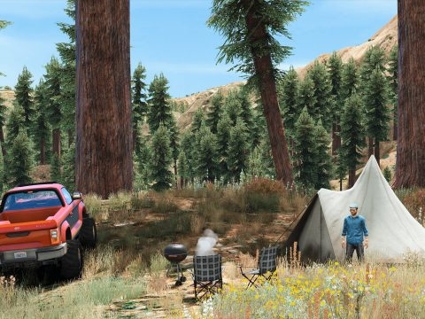 Forests of San Andreas [LODs | Add-On | YMAP | YMT | CARGEN] 2.1
