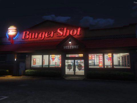 GTAIV Burgershot Interior [SP / FiveM] v1.8