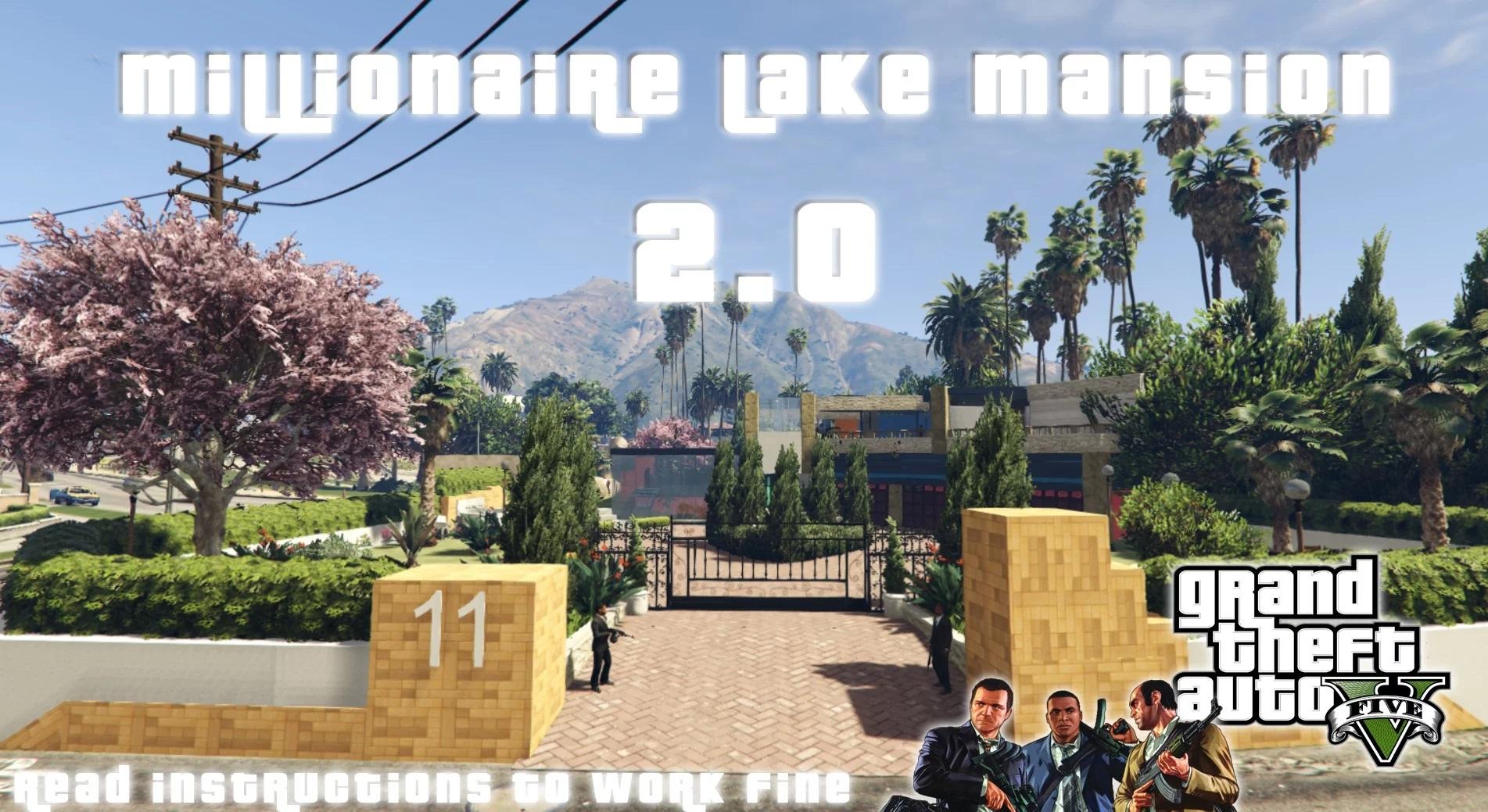 Millionaire Lake Mansion 2.0