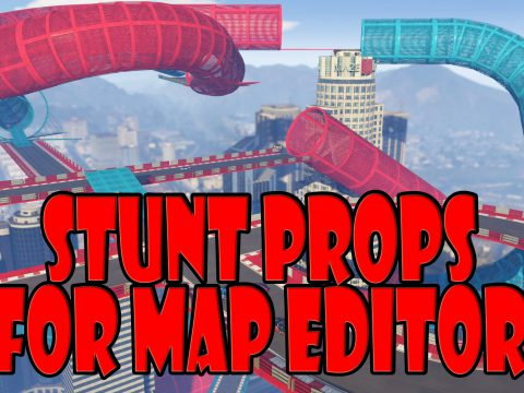 Stunt props for Map Editor 2.0