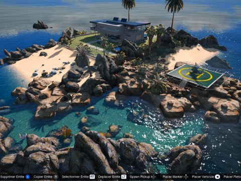 Villa on the Island [Map Editor / ymap] v2