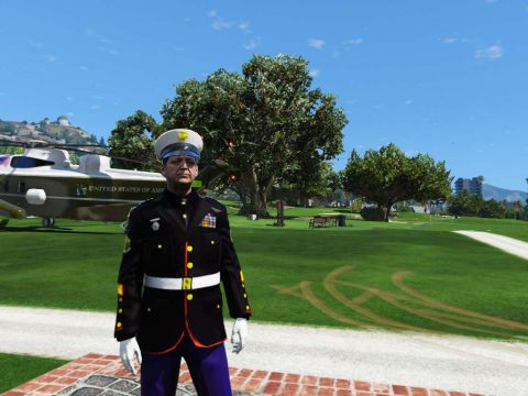 USMC Dress Blues 1.2