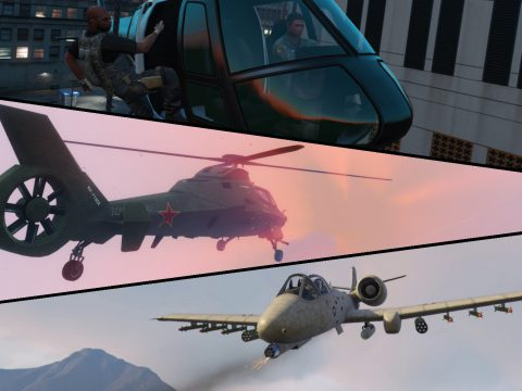 Air Support: Strafe Run, Chopper Gunner & More 3.2