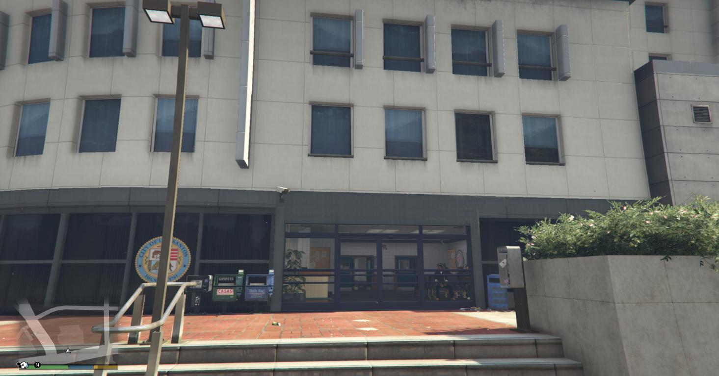 All Police Station open SP & FiveM 1.2