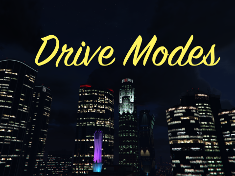 Drive Modes & Custom Vehicle Cameras [Handling Editor] 2.0.5