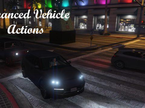 Enhanced Vehicle Actions 2.6 (Seatbelts!) [RPH] 2.6