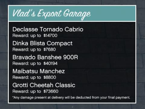 Vlad's Export Garage 2.1