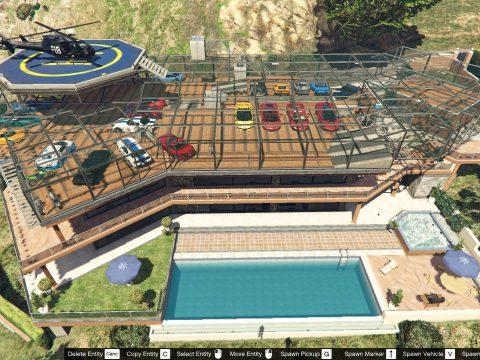 Franklin Garage Roof [Map Editor / SPG] 3.0
