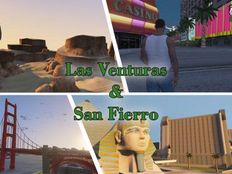 Las Venturas & San Fierro DLC 0.1.1
