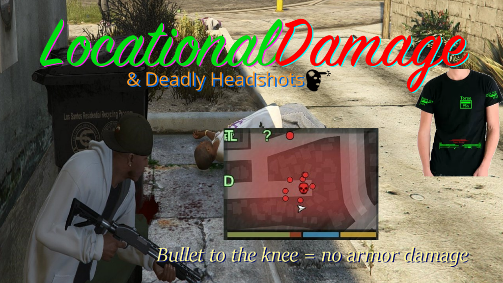 Locational Damage & Deadly Headshots 1.1